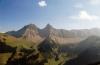Die bekannten Berge Brenlaire und Folliéran
