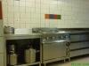 Die sehr gut eingerichtete Küche