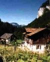 Das Chalet du Chamois in der schönen Natur