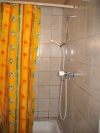Eine Duschkabine