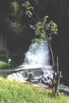 Der Wasserfall in Jaun