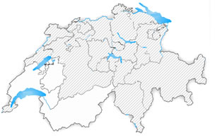 Swiss map