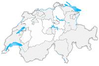 Swiss map
